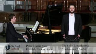 Oxford Lieder Young Artist Platform: Peter Harris & Hamish Brown