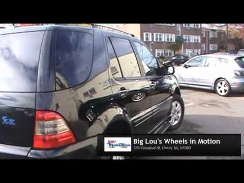 2005 Mercedes Benz ML350 Special Edition Big Lou's Wheels in Motion