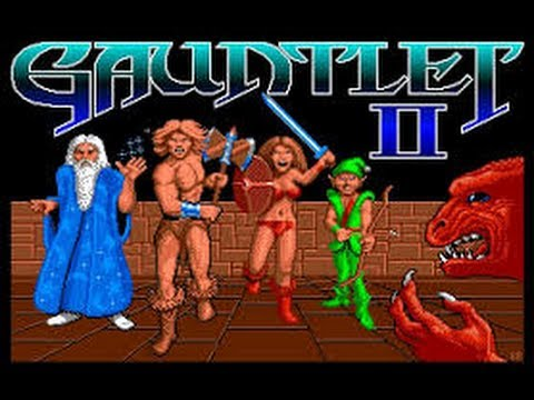 gauntlet amiga game