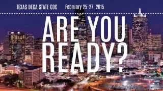 Texas DECA State CDC 2015 Promo Video!