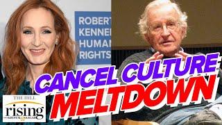 Krystal and Saagar BLAST cancel culture meltdown over Chomsky, Rowling letter defending free speech