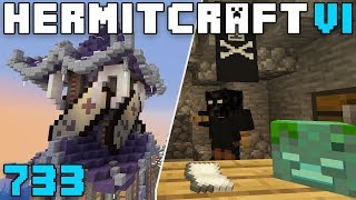 Hermitcraft VI 733 Tag HQ & Hitman Shop!