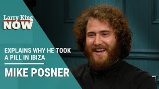 """""""I Foolishly Said Yes"""": Mike Posner Explains Why He Took a Pill In Ibiza"""