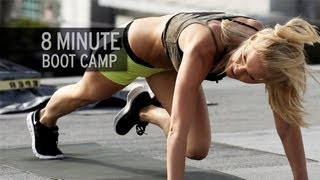 8 Minute Boot Camp Workout