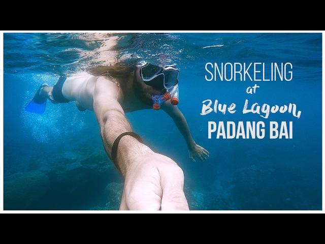 Snorkeling at Blue Lagoon, Padang Bai, BALI