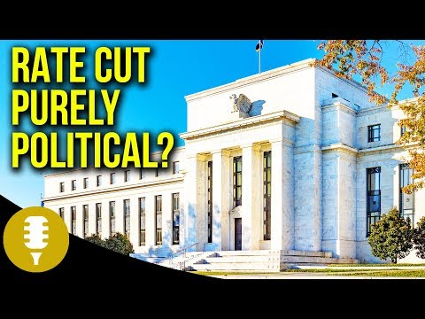 """Why Cut Rates If The Economy Is Supposedly Doing """"So Well""""?   Golden Rule Radio"""