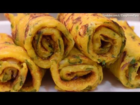 आटे का इतना टेस्टी और आसान नाश्ता वो भी बिना तेल का की आप रोज़ बनाकर खाएंगे Breakfast Recipes Indian