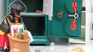 Playmobil Polizei Film deutsch: Polizei & SEK Einsatz nach Einbruch   Kinderfilm / Kinderserie