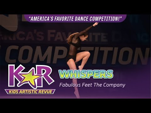 """Whispers"" from Fabulous Feet The Company"