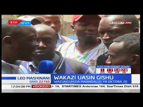 Wakazi wa Uasin Gishu watoa maoni kuhusiana na mchakato wa uchaguzi