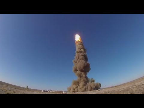 RAW: Russia successfully tests anti-ballistic missile