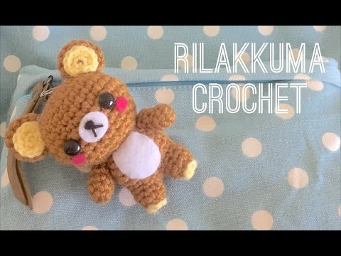 (DMC Knitting/Crochet) Rilakkuma Crochet Tutorial
