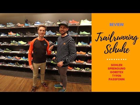 // Trailrunning Schuhe - Wir klären auf  // Sprengung, Sohlen, Größen, Typen, GoreTex