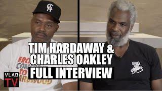 Tim Hardaway & Charles Oakley on Michael Jordan, Charles Barkley, Dennis Rodman (Full Interview)