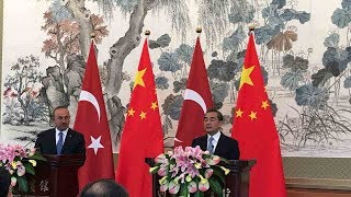 Turkish FM: China's security is our security