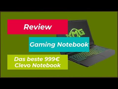[2017] Das beste 999€ Clevo Gaming Notebook unter 1000€? | i7 7700HQ - GTX 1050Ti - 16GB  - RGB