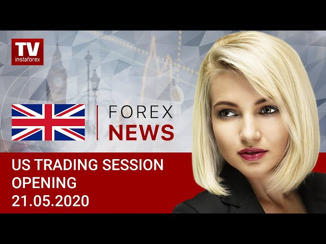 21.05.2020: Market mulling over mixed signals from Trump and Fed (USDХ, DJIA, WTI, USD/CAD)