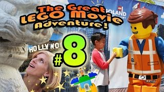 The GREAT LEGO MOVIE ADVENTURE! Episode 8 - HOLLYWOOD