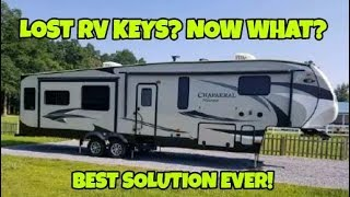 Locked out of your RV? Here is the simple fix!  RVLock Installation!