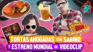 TORTAS AHOGADAS CON SABINO, SU ESTUDIO Y ESTRENO DE VIDEOCLIP - ÑamÑam (Episodio 110)