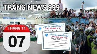 100 học viên cai nghiện đập phá trốn trại | TRẮNG NEWS 999 | 7-11-2016