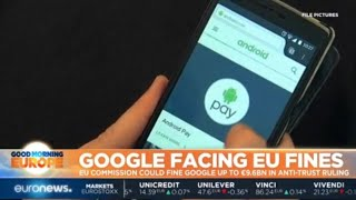 Google Facing EU Fines: EU Commission could fine Google up to €9.6 billion in anti-trust ruling | Kholo.pk