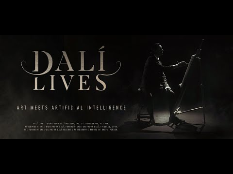 Dali lives: Art meets artificial intelligence