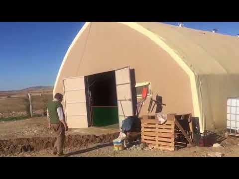 Nadide Model Makaslı Koyun Çadırı