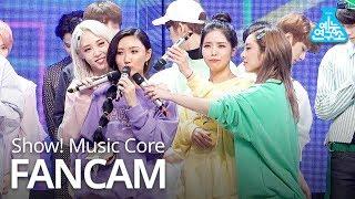 [예능연구소 직캠] Hwasa - twit, 화사 - 멍청이 No.1 encore ver. @Show Music core 20190316