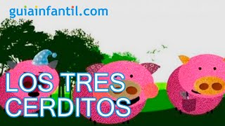 Los tres cerditos, cuentos cortos para niños