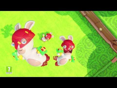 Mario + The Lapins Crétins Kingdom Battle (Trailer preview) de Mario + The Lapins Crétins Kingdom Battle