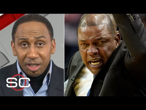Stephen A. defends Doc Rivers after ejection from Clippers vs. Rockets | SportsCenter