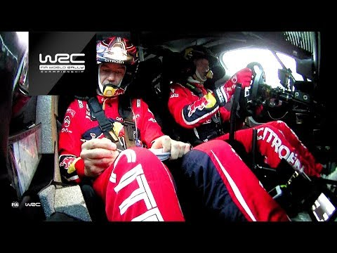 WRC - Wales Rally 2019: Onboard compilation Citroën