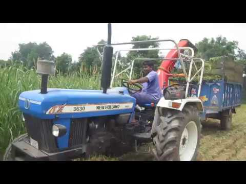 Flail Type Forage Harvester