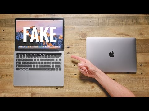 $50 Fake MacBook Pro vs $1,500 MacBook Pro