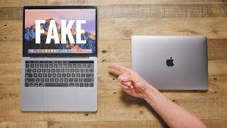 $50 Fake MacBook Pro vs $1,500 MacBook Pro