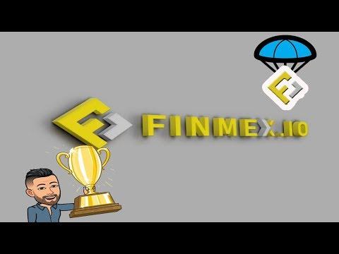 Ganhe R$74 reais no Airdrop da Exchange Finmex !!!