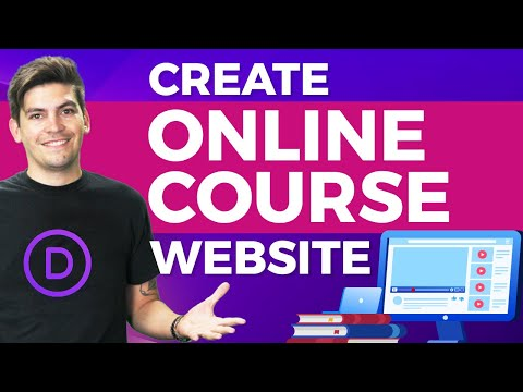 How To Create An Online Course LMS Website  With Wordpres (SELL ONLINE COURSES IN 1 HOUR!)