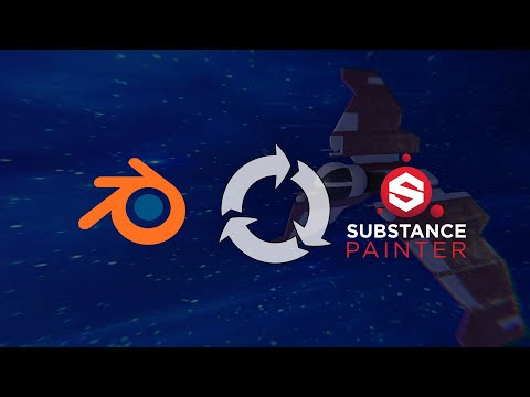 How To Use Substance Painter With Blender | Blender to Substance Painter Workflow Tutorial