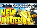 NEW MODERN WARFARE UPDATES! 1.08 PATCH FAL BUFFS, SPAWNS, GUNFIGHT, GAME MODES + MORE COMING SOON!