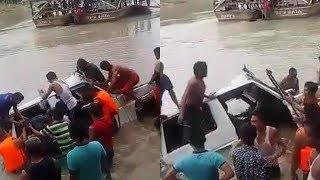 Mobil Tenggelam di Sungai Wampu Tewaskan 5 Orang, Saksi Ungkap Detik-detik Mobil Terjun dari Rakit