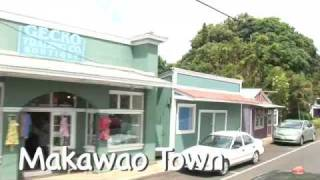 preview picture of video 'Makawao Town Virtual Maui Guide'