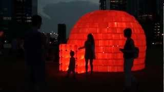 VIDEO : BIBIGLOO - Ilight Marina Bay 2012 - Singapore
