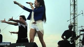 Danna Paola - Ruleta ( Concierto Exa Cuernavaca 2012 ) 24/05/2012