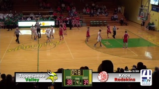 Tippecanoe Valley Boys Basketball vs Knox