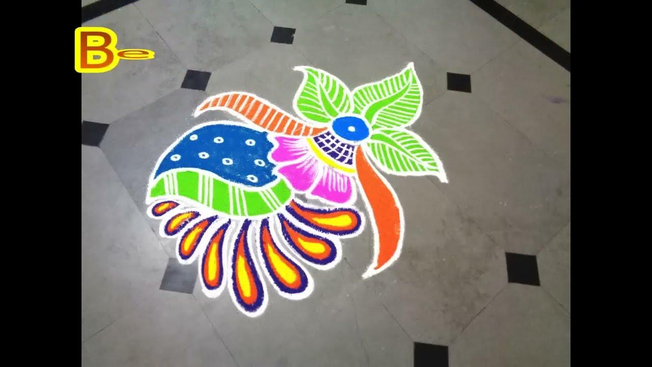 special rangoli designs for diwali by bhavika ahuja