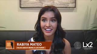 Miss Universe Philippines Rabiya Mateo Talks About Her Experience as an Educator!