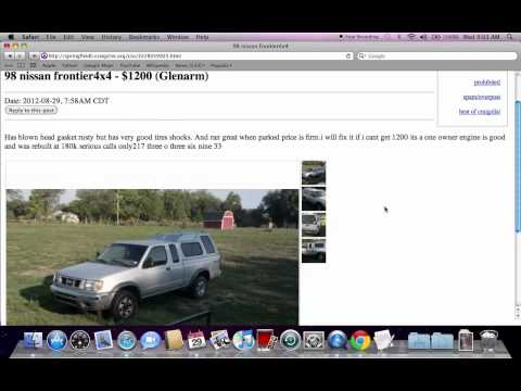 Craigslist For Used Cars By Owner Salem Oregon - 2019-2020