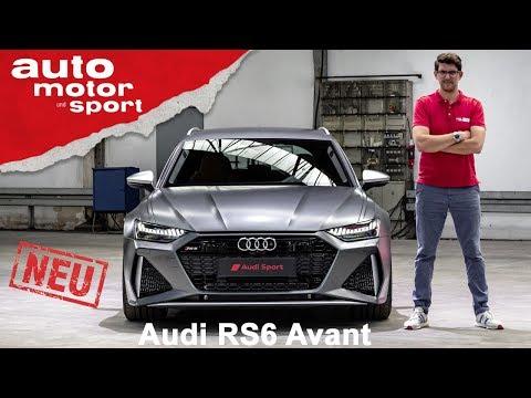 Boah, ist der breit! Audi RS6 Avant (2019) - Review/Sitzprobe | auto motor und sport