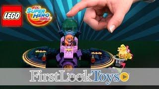 LEGO DC Superhero Girls Batgirl Batjet Chase Unboxing